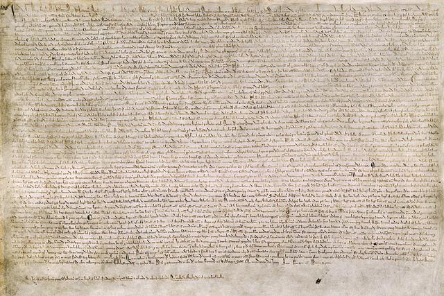 magna carta, from Flickr, James Joel 2