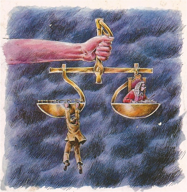 Image from 'More Rough Justice' by Peter Hill, Martin Young and Tom Sargant, 1985