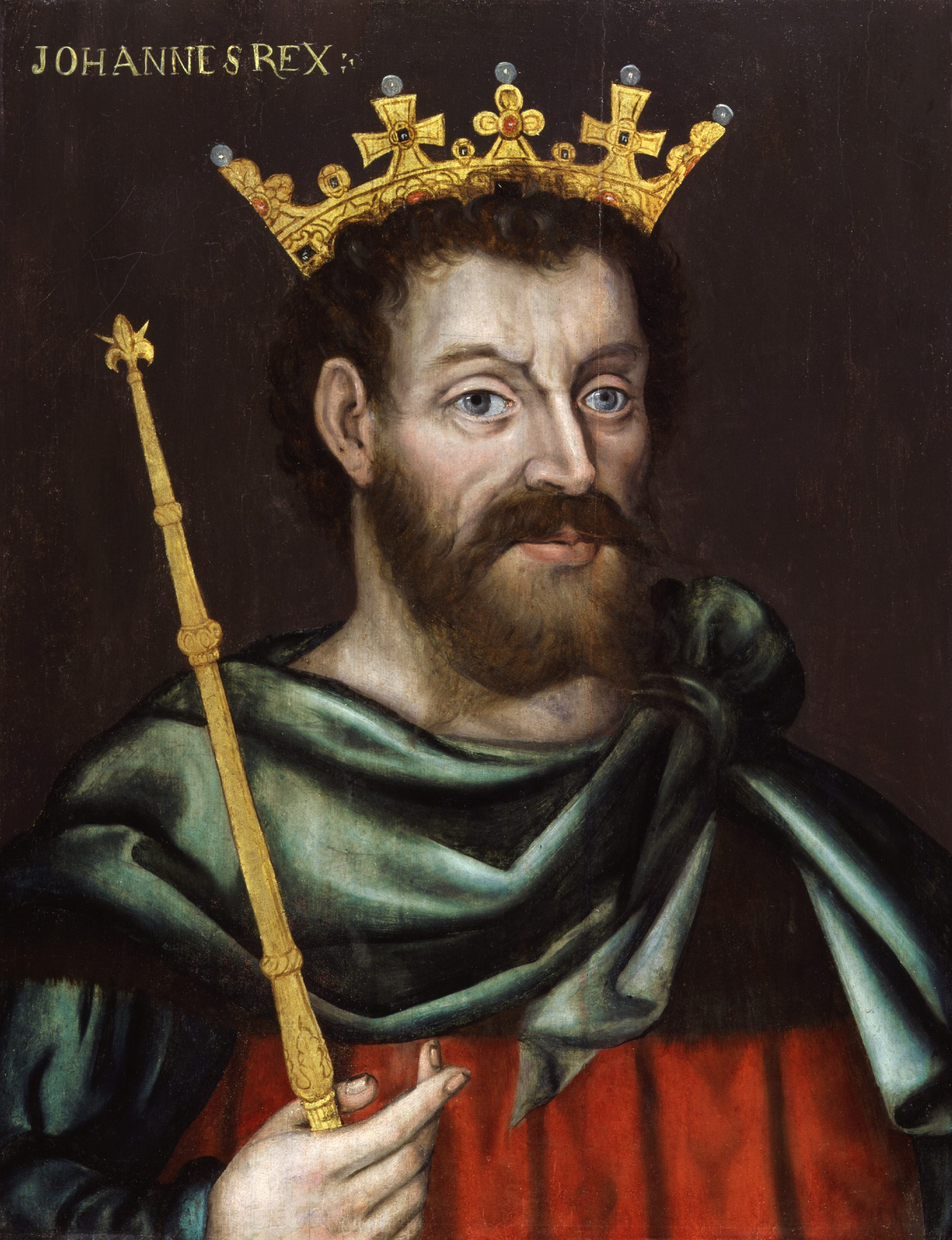 King John by an unknown artist, 1620 © National Portrait Gallery