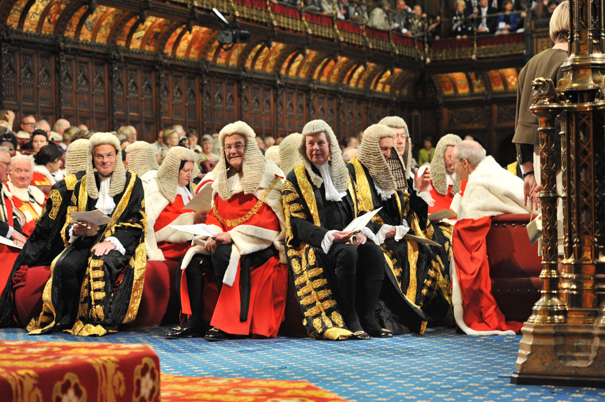 Judges await Queen's Speech, UK Parliament