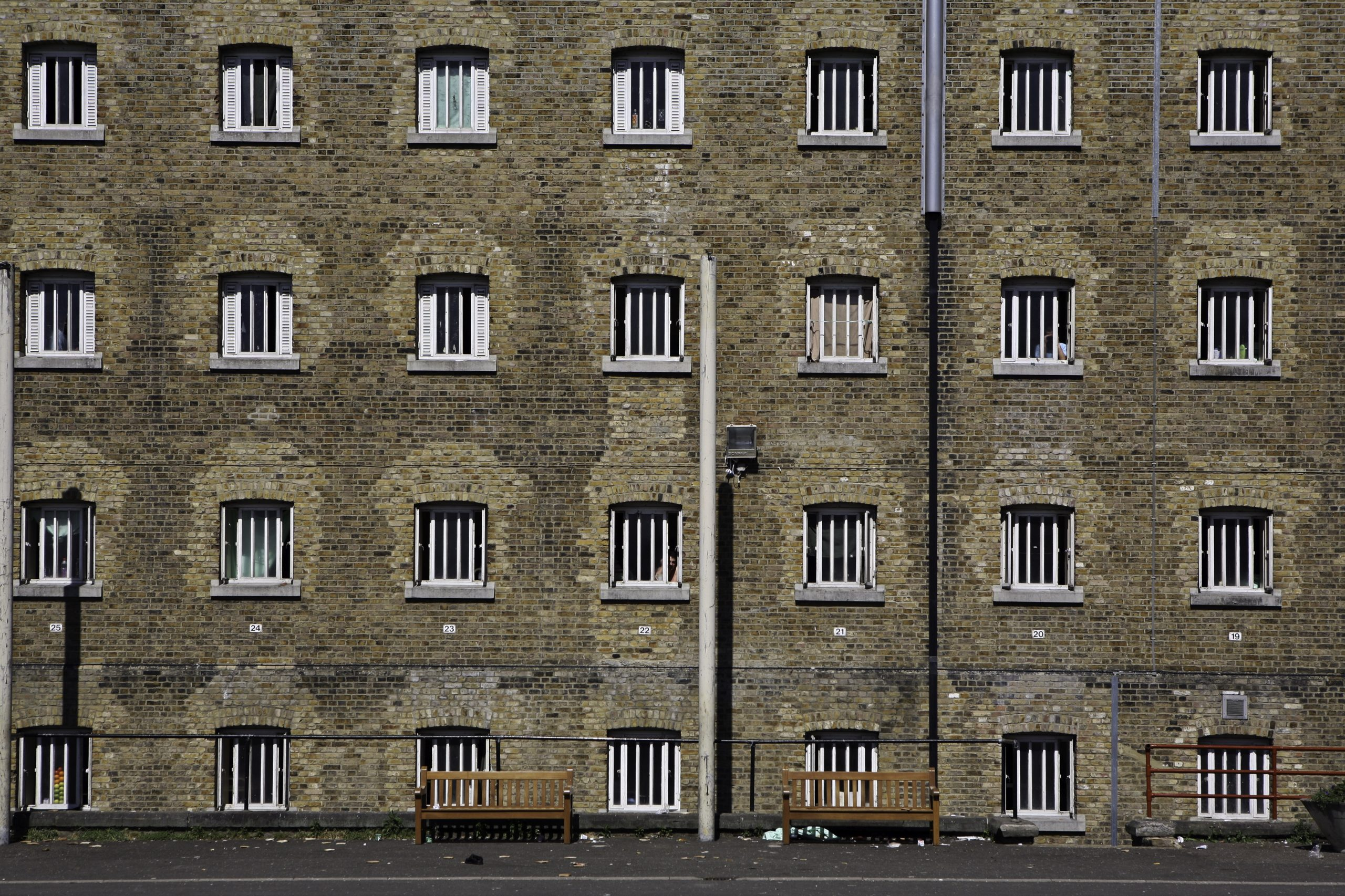 A view of D wing at HMP Wandsworth Prison. Pic: Andy Aitchison