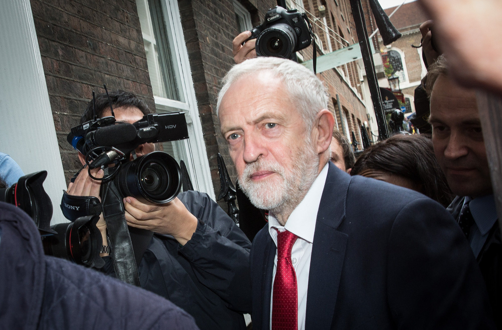 Jeremy Corbyn: 12 May 2017 Pic: Chatham House (Flickr, Creative Comms)