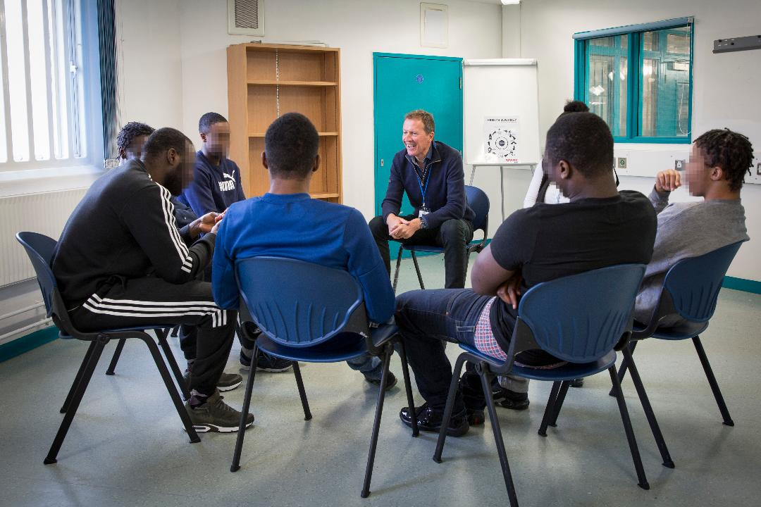 Nearly 1,000 prisoners have completed Spark's programmes. Photos: Andy Aitchison
