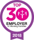Top 30 Employer 2018 award