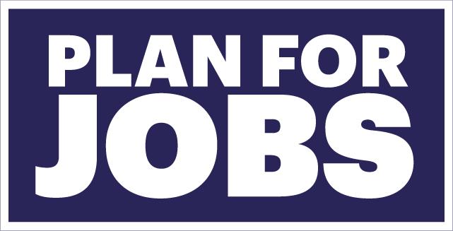 Plan for Jobs logo