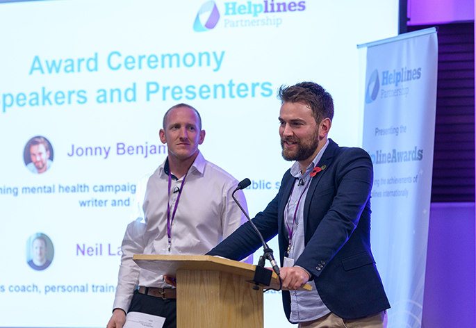 Jonny Benjamin MBE and Neil Laybourn Hero Image