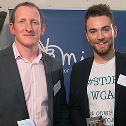 Jonny Benjamin MBE and Neil Laybourn