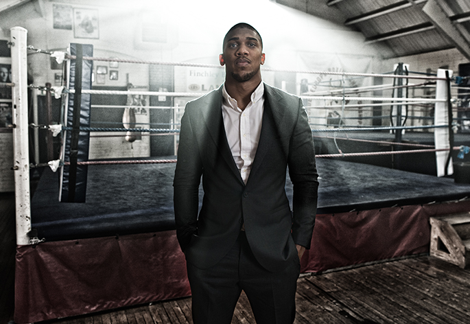 Anthony Joshua MBE Hero Image