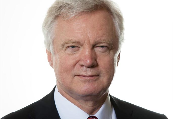Rt Hon David Davis MP Hero Image