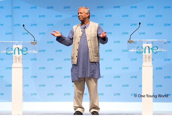 Prof. Muhammad Yunus Hero Image