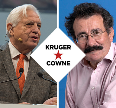John Simpson & Robert Winston | April 2018 | Kruger Cowne Breakfast Club Event Image