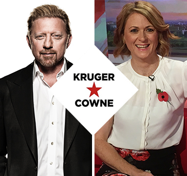 Boris Becker | Moderated by Rachel Burden | July 2018 | Kruger Cowne Breakfast Club Event Image