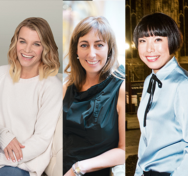 Angelica Cheung, Julie Montagu  & Sassi Holford   June 2018   Kruger Cowne Breakfast Club Event Image
