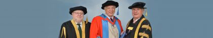 John Simpson honoured by Exeter University