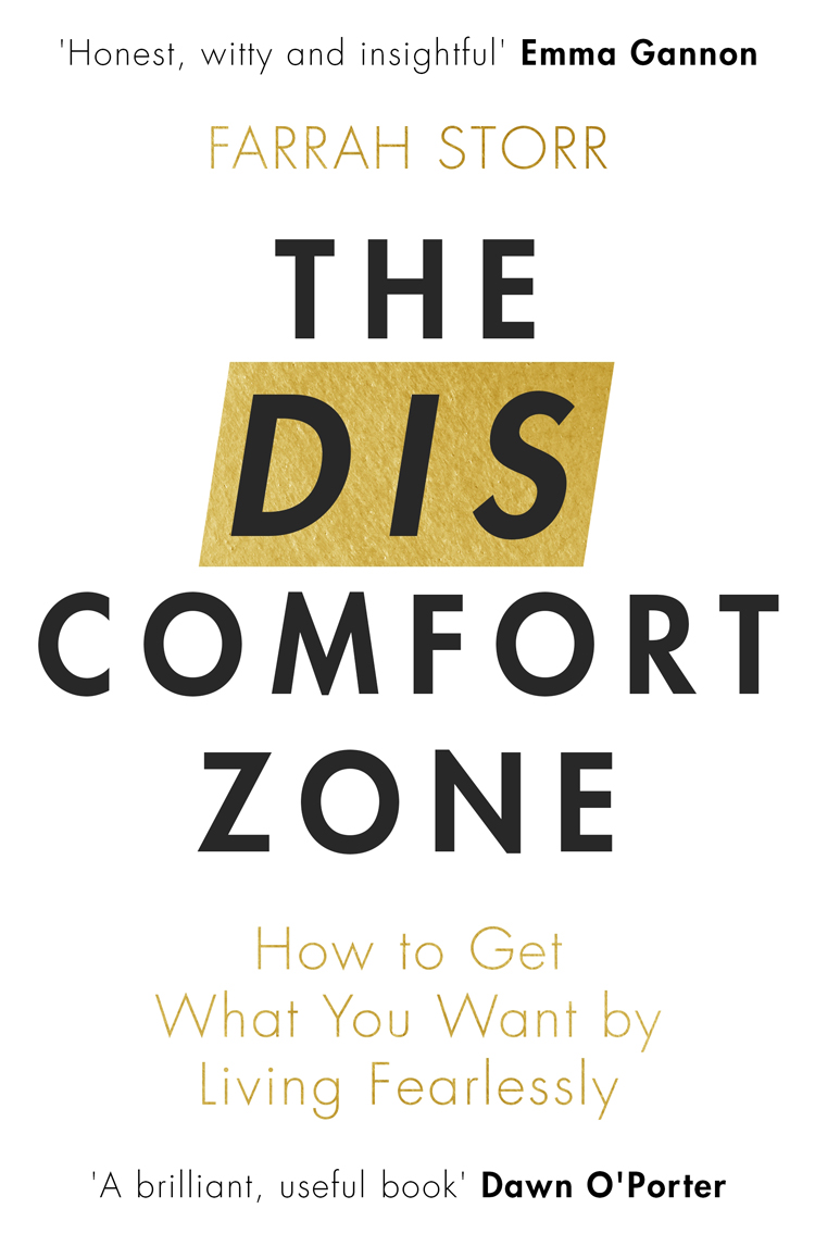 Farrah Storr The Discomfort Zone book cover