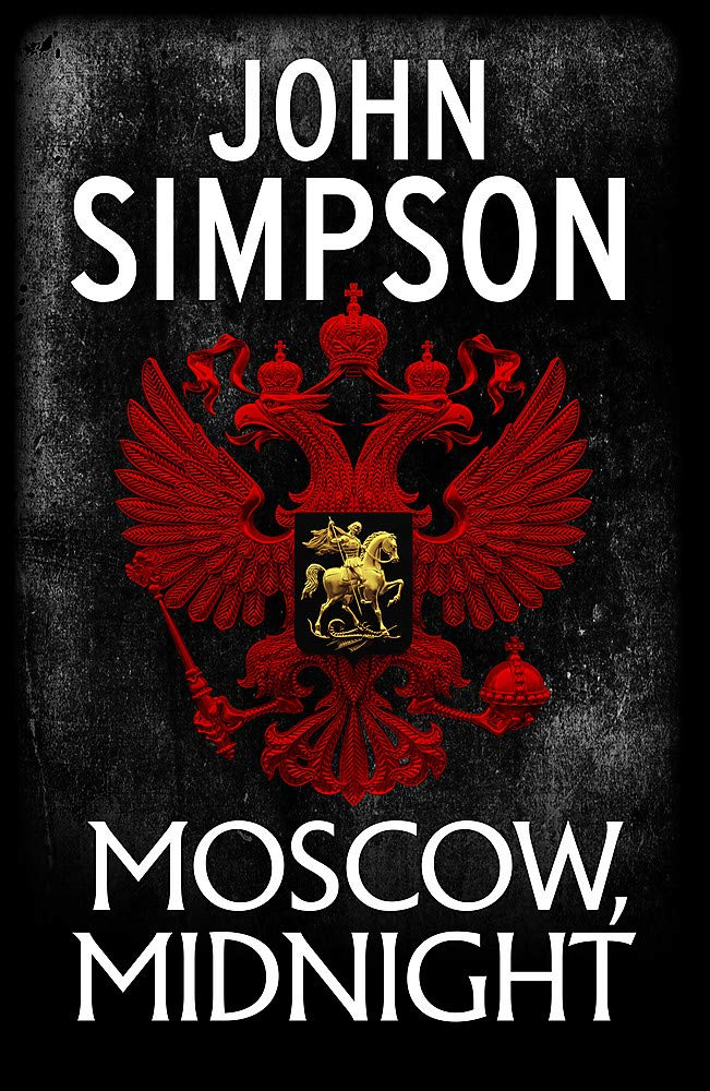 John Simpson Moscow Midnight book cover