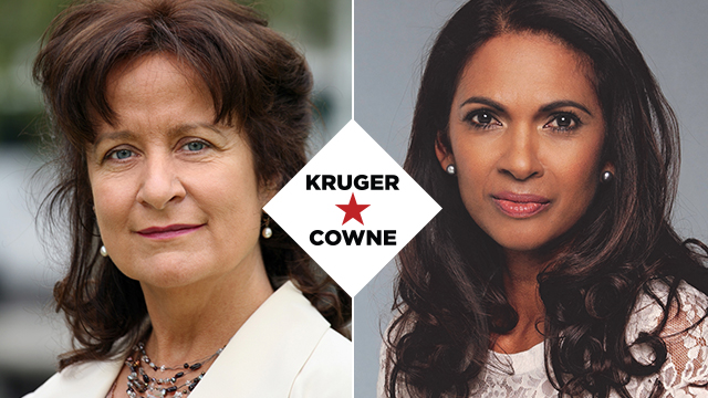 Helena Kennedy QC & Gina Miller | February 2019 | Kruger Cowne Breakfast Club Event Image