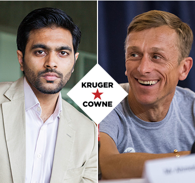 Jeremy Gilley & Waqas Ahmed | April 2019 | Kruger Cowne Breakfast Club Event Image