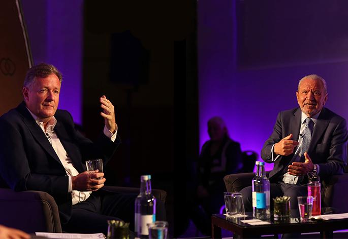 Lord Sugar & Piers Morgan Hero Image