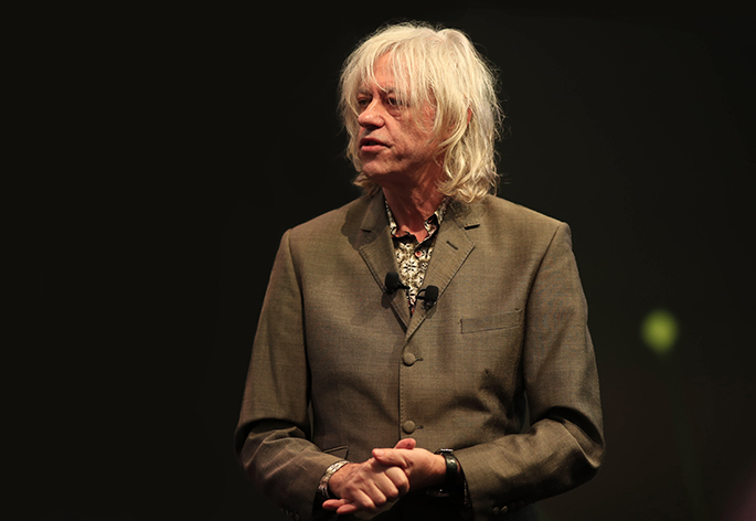 Sir Bob Geldof Hero Image