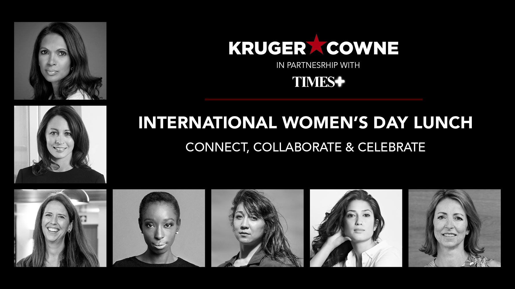 International Women's Day Lunch Event: Connect, Collaborate and Celebrate | In Partnership with Times+ Event Image