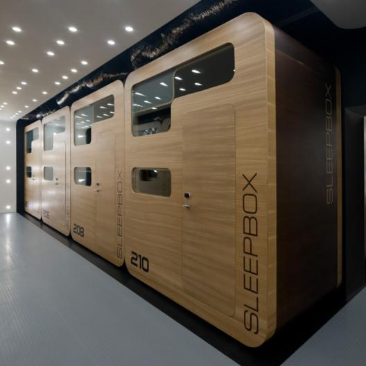 Sleepbox - Innovation in workplace sleep pods