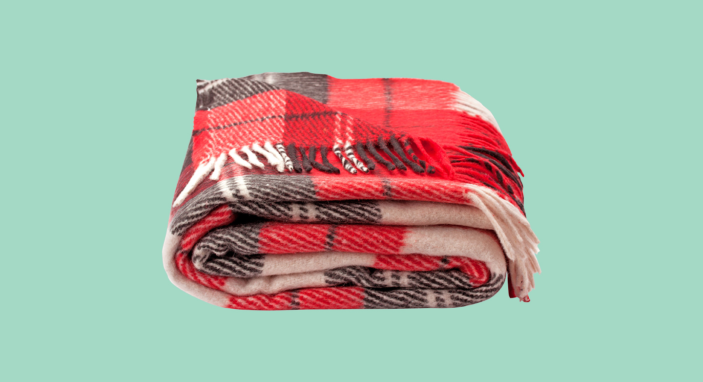 Whether you want to snuggle it on the couch or lay on it for a picnic, we'll make sure your blanket gets the care it deserves. Includes sleeved blankets.