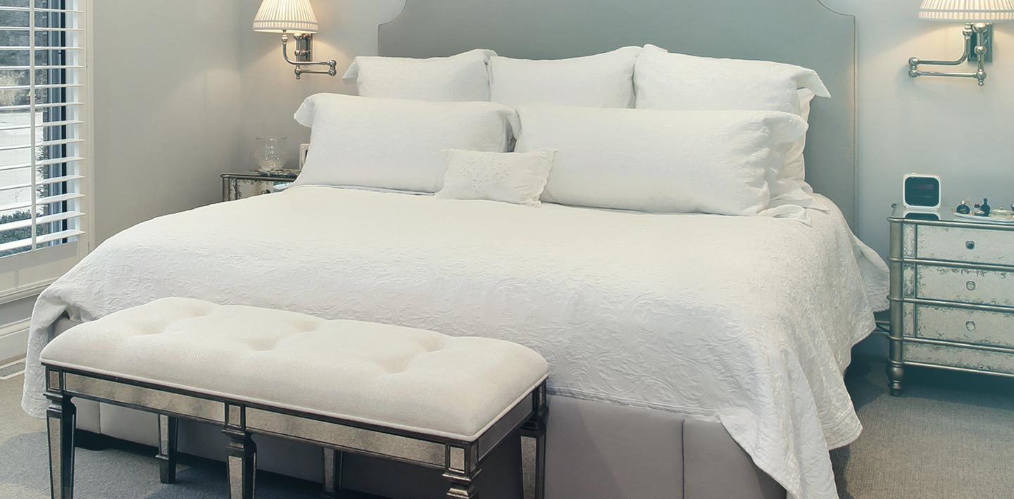 Get a double-sized bed sheet, duvet cover and two pillow cases cleaned in one go, so you can enjoy a great night's sleep.