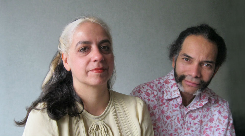 Indra Khanna and Hew Locke
