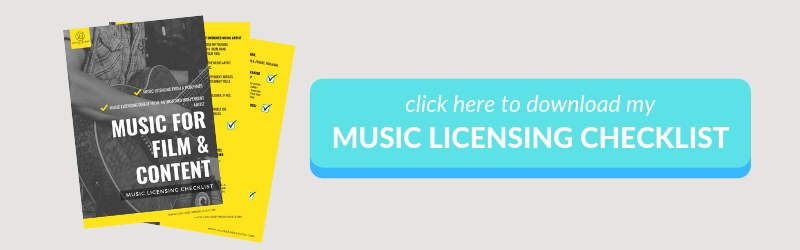 Download Link to Music Licensing Checklist for Filmmakers