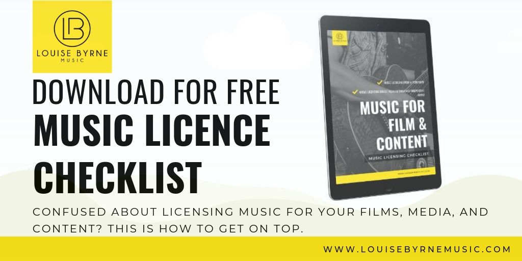 music licensing for filmmakers