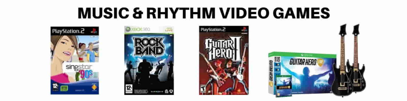 MUSIC BASED VIDEO GAMES