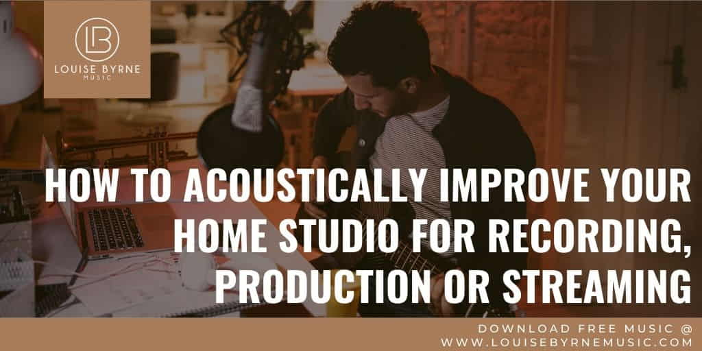 acoustic treatment for recording and streaming