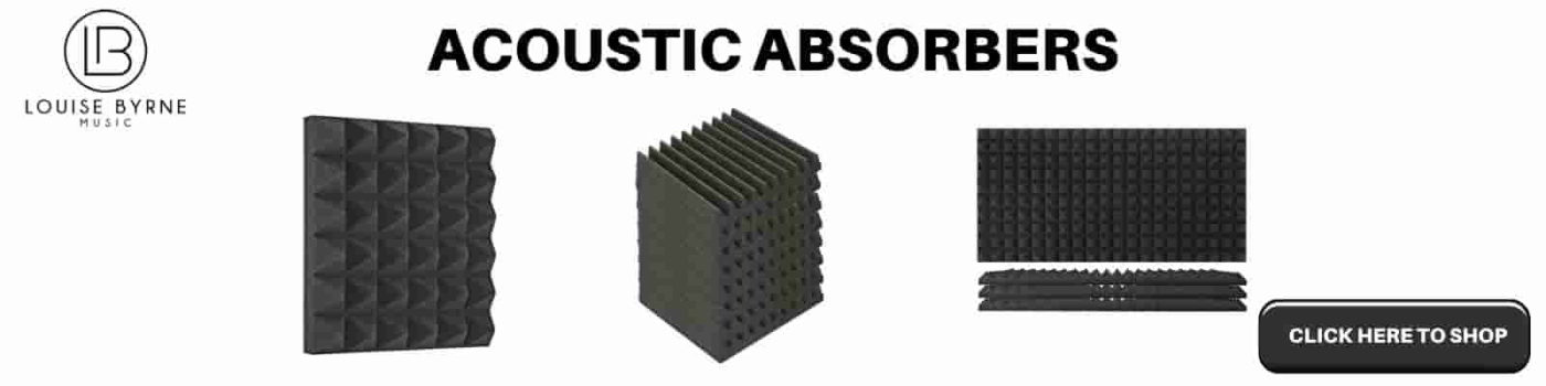 acoustic absorber for room acoustics