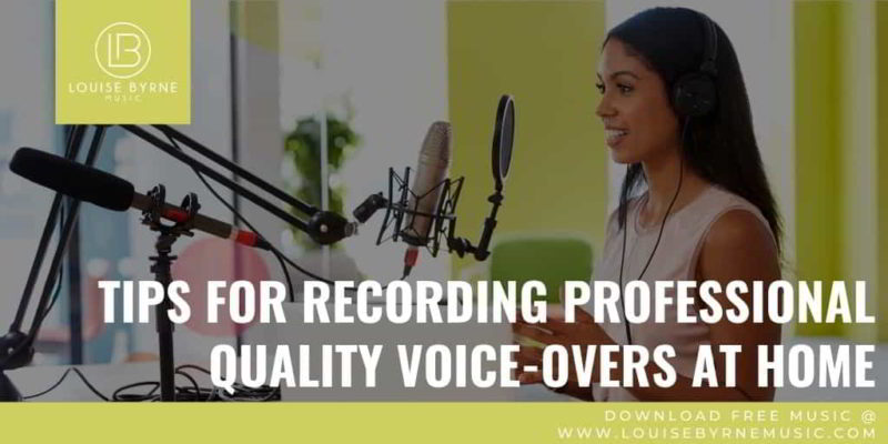 Voice Overs at Home