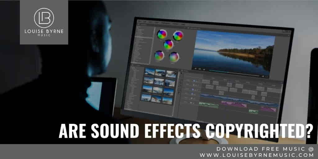 sound effects and copyright