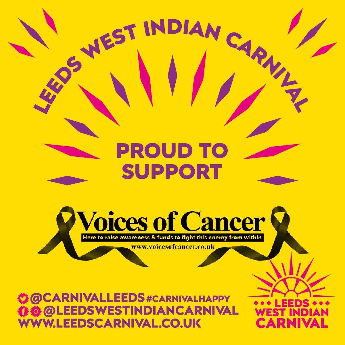 Leeds Carnival Supports Voices Of Cancer