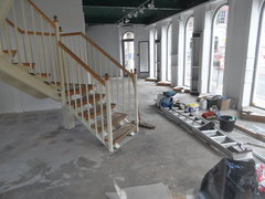shop being refitted
