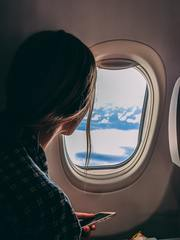 Passenger on plane