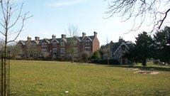 Terraced Houses On Park