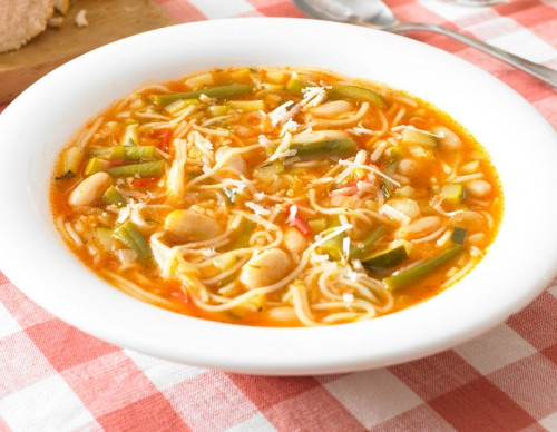 Summer Vegetable Minestrone Soup