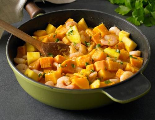 Prawn, Mango and Sweet Potato Curry