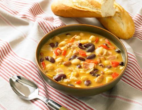Romanian Bean Soup