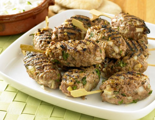 Turkish Kofta Kebabs