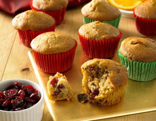 Cranberry and Orange Muffins
