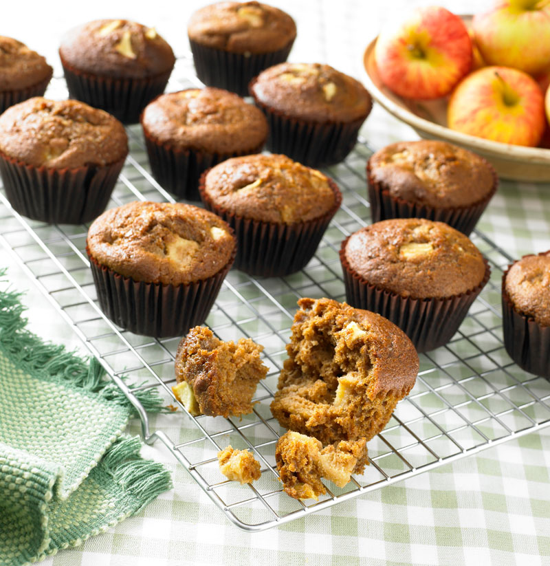 Ginger and Apple Muffins