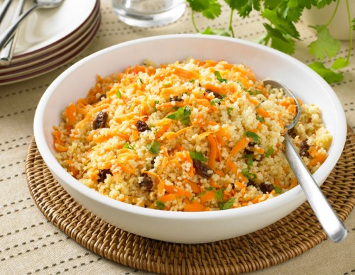 Carrot Couscous Salad