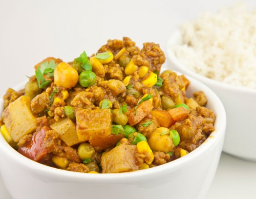 Quorn Mince Curry