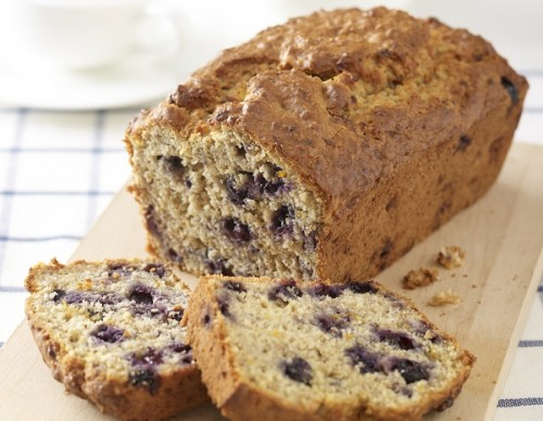 Blueberry and Banana Oat LoafBlueberry and Banana Oat Loaf
