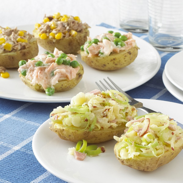 Microwave Jacket Potato With Tuna And Sweetcorn Let S Get Cooking